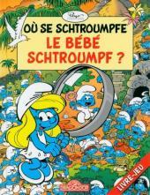 Les schtroumpfs (Jeux) -2LJ3- Où se schtroumpfe le bébé schtroumpf ?