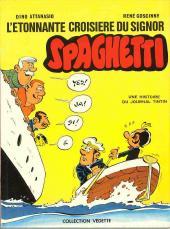 Spaghetti -15- L'étonnante croisière du Signor Spaghetti