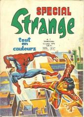 Spécial Strange -1- Les Fantastiques : Cataclysme