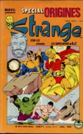Strange (Spécial Origines) -244bis- Strange 244 bis