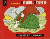 Sylvain et Sylvette (06-série : collection Fleurette 2e série) -7- L'ours et l'agneau