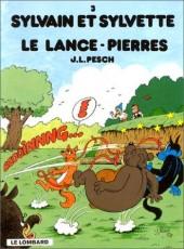 Sylvain et Sylvette -3c1996- Le lance-pierres