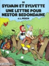 Sylvain et Sylvette -35- Une lettre pour Nestor Bedondaine
