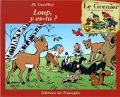 Sylvain et Sylvette (Le grenier de) -6- Loup, y es-tu ?