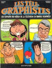 Les télé-Graphistes -6- Tome 4 2e série - Les exploits des héros de la télévision en bandes dessinées