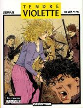 Tendre Violette (N&B) -1a- Tendre Violette