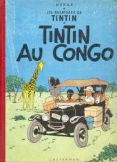 Tintin (Historique) -2B18- Tintin au Congo