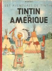 Tintin (Historique) -3A18- Tintin en Amérique