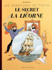 Tintin (Fac-similé couleurs) -11- Le secret de la Licorne
