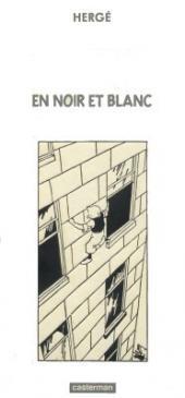 Tintin - Divers -Cof- En noir et blanc