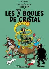 Tintin -13- Les 7 boules de cristal
