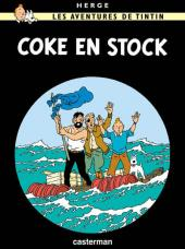 Tintin -19- Coke en stock
