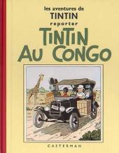 Tintin (Fac-similé N&B) -2a- Tintin au Congo