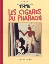 Tintin (Fac-similé N&B) -4a- Les cigares du Pharaon