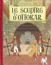 Tintin (Fac-similé couleurs) -8- Le sceptre d'Ottokar