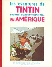 Tintin (Fac-similé N&B) -3- Tintin en Amérique
