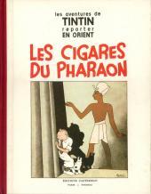 Tintin (Fac-similé N&B) -4- Les cigares du pharaon
