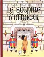 Tintin (Fac-similé N&B) -8a- Le sceptre d'Ottokar