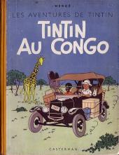 Tintin (Historique) -2B01- Tintin au Congo