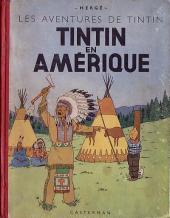 Tintin (Historique) -3B01- Tintin en Amérique