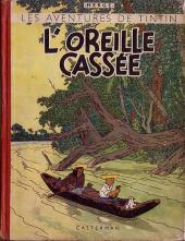 Tintin (Historique) -6A20- L'oreille cassée