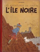 Tintin (Historique) -7A20- L'île noire