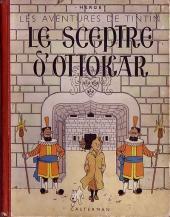 Tintin (Historique) -8A18- Le sceptre d'Ottokar