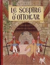 Tintin (Historique) -8B01- Le sceptre d'Ottokar