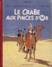 Tintin (Historique) -9A22- Le crabe aux pinces d'or