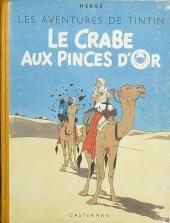 Tintin (Historique) -9A23- Le crabe aux pinces d'or