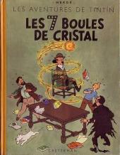 Tintin (Historique) -13B02- Les 7 boules de cristal