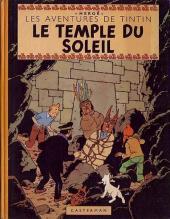 Tintin (Historique) -14B03- Le temple du soleil