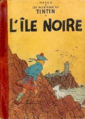 Tintin (Historique) -7B11- L'île noire