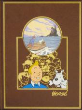 Tintin (L'œuvre intégrale d'Hergé - Rombaldi) -4- L'île noire-Le statonef H22-Quick et Flupke