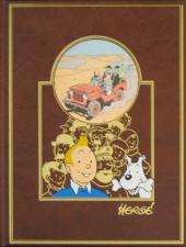 Tintin (L'œuvre intégrale d'Hergé - Rombaldi) -7- Les 7 boules de cristal-Le temple du soleil-Au pays de l'or noir-...