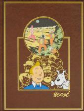 Tintin (L'œuvre intégrale d'Hergé - Rombaldi) -8- Objectif lune-On amarché sur la lune-Quick et Flupke
