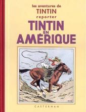 Tintin (Fac-similé N&B) -3a- Tintin en Amérique