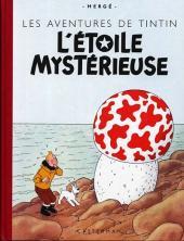 Tintin (Fac-similé couleurs) -10- L'étoile mystérieuse