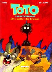 Toto l'ornithorynque -2- Toto l'ornithorynque et le maître des brumes