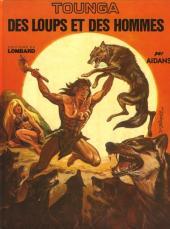 Tounga (Cartonné) -3- Des loups et des hommes