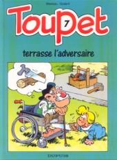 Toupet -7- Toupet terrasse l'adversaire