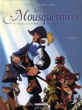 Les trois Mousquetaires (Morvan/Rubén) -1- Volume 1