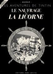 Tintin - Pastiches, parodies & pirates -10pira- Le Naufrage de la Licorne