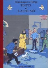 Tintin - Pastiches, parodies & pirates -24a- Tintin et l'Alph-Art