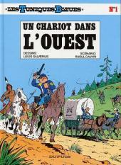 Les tuniques Bleues -1d98- Un chariot dans l'Ouest