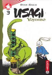 Usagi Yojimbo -3a- Troisième Volume