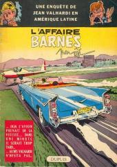 Valhardi -8- L'affaire Barnes