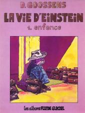 La vie d'Einstein -1- Enfance