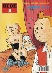 Tintin - Pastiches, parodies & pirates -a- La vie sexuelle de Tintin