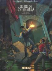 Les voyages d'Alexandre Icare -1- Les fils de l'Alhambra